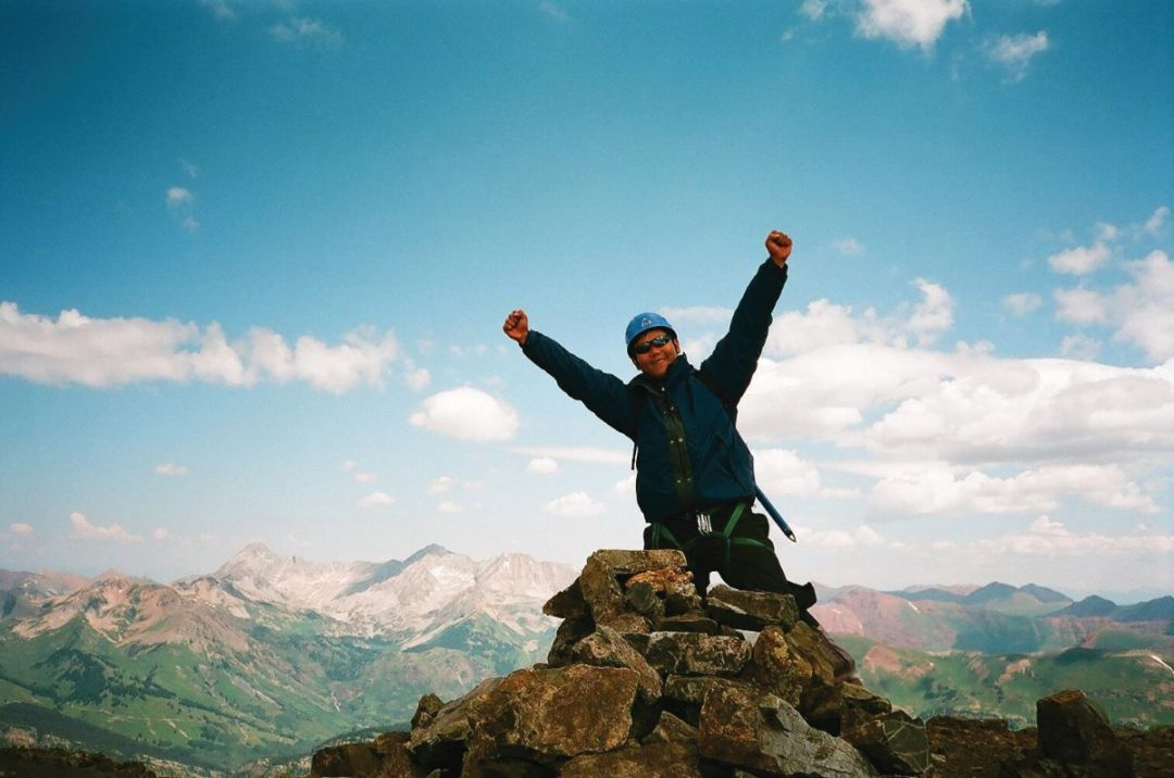 Steps to the Summit: Sophomores Plan Their Journeys to Mountaintops, Then College