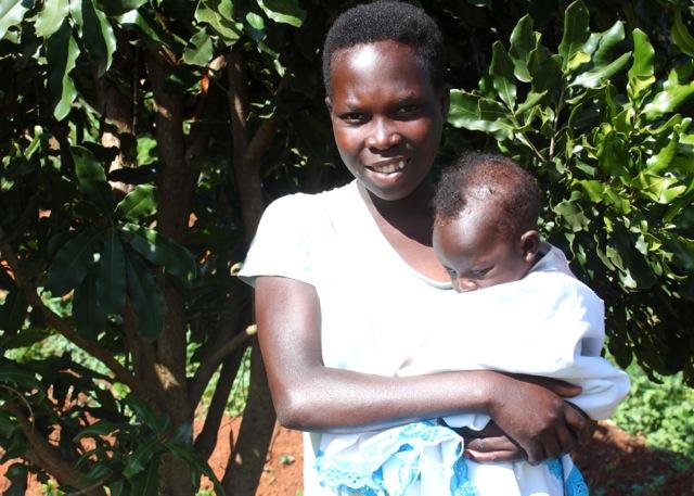 Banana Farmer Saves Her 5-Pound Baby's Life, with a Garden
