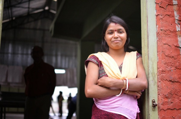 Face-to-Face with Rekha, Factory Worker from Assam, India