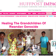 Rwanda Now: Healing the Grandchildren of Genocide