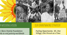 Our 2014 Annual Report: The Past, Present, and Future of Philanthropy