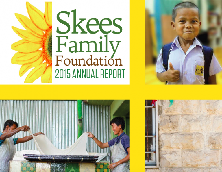 Being the Change: Our Family & Partners Featured in 2015 Annual Report