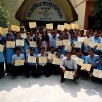 Medha graduates Lucknow India 2015